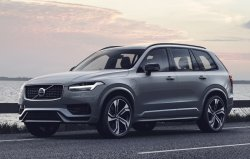 Volvo XC90 R-Design (2020) - Creating patterns of car body and interior. Sale of templates in electronic form for cutting on pain protection film on a plotter