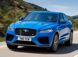 Jaguar F-Pace SVR (2018) - Creating patterns of car body and interior. Sale of templates in electronic form for cutting on pain protection film on a plotter